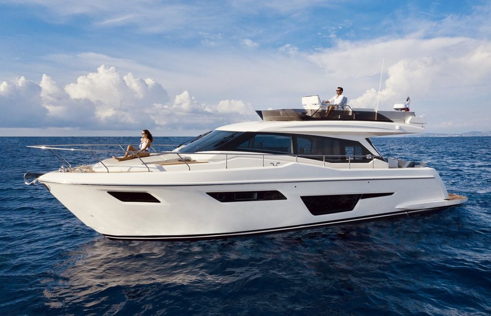 360 VR Virtual Tours of the Ferretti 500
